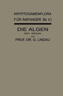 Die Algen von Lindau,  Gustav, Melchior,  Hans, Pilger,  Robert