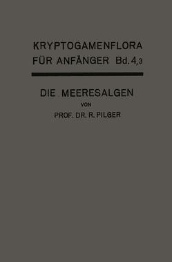 Die Algen von Lindau,  Gustav, Pilger,  Robert