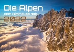 Die Alpen – dem Himmel so nah – 2022 – Kalender DIN A3