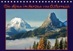 Die Alpen im Herzen von Österreich (Tischkalender 2019 DIN A5 quer) von Bucher,  Leo