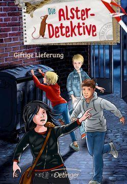 Die Alster-Detektive Giftige Lieferung von Velte,  Ulrich, Wiegand,  Katrin