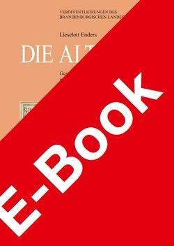 Die Altmark von Enders †,  Lieselott, Neitmann,  Klaus