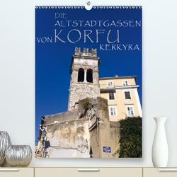Die Altstadtgassen von Korfu Kerkyra (Premium, hochwertiger DIN A2 Wandkalender 2021, Kunstdruck in Hochglanz) von by ANGEEX Photo by Georgios Georgotas,  Copyright