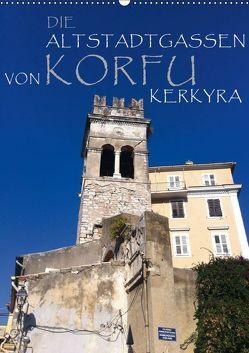 Die Altstadtgassen von Korfu Kerkyra (Wandkalender 2019 DIN A2 hoch) von by ANGEEX Photo by Georgios Georgotas,  Copyright