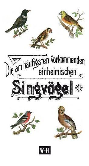 Die am häufigsten vorkommenden heimischen Singvögel von Mherb,  Ch L
