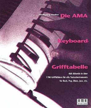 Die AMA-Keyboard-Grifftabelle von Fiedler,  Wolfgang