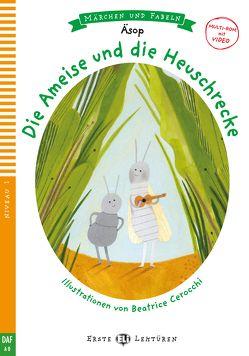 Die Ameise und die Heuschrecke von Aesop