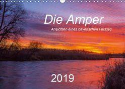 Die Amper – Ansichten eines bayerischen Flusses (Wandkalender 2019 DIN A3 quer) von Bogumil,  Michael