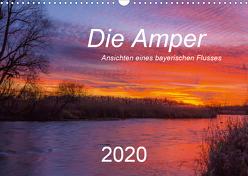 Die Amper – Ansichten eines bayerischen Flusses (Wandkalender 2020 DIN A3 quer) von Bogumil,  Michael