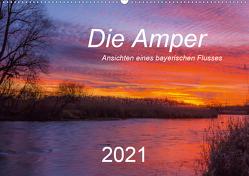 Die Amper – Ansichten eines bayerischen Flusses (Wandkalender 2021 DIN A2 quer) von Bogumil,  Michael