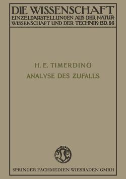 Die Analyse des Zufalls von Timerding,  Heinrich Emil