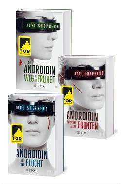 Die Androidin. Die komplette Trilogie von Hallmann,  Maike, Shepherd,  Joel
