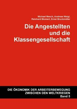 Die Angestellten und die Klassengesellschaft von Blomert,  Reinhard, Bruckmüller,  Ernst, Mesch,  Michael, Weigl,  Andreas