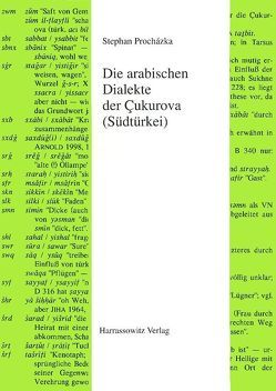 Die arabischen Dialekte der Cukurova (Südtürkei) von Procházka,  Stephan