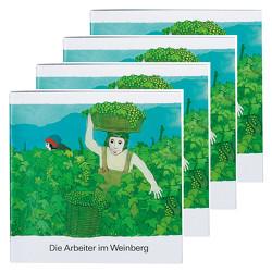 Die Arbeiter im Weinberg (4er-Pack) von de Kort,  Kees
