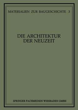 Die Architektur der Neuzeit von Grassnick,  Martin