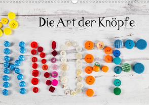 Die Art der Knöpfe (Wandkalender 2021 DIN A3 quer) von Kromand,  Britta