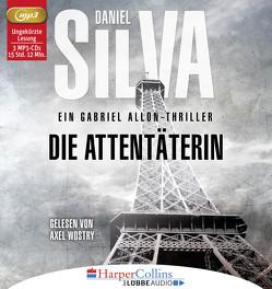 Die Attentäterin von Bergner,  Wulff, Silva,  Daniel, Wostry,  Axel