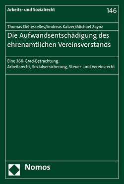 Die Aufwandsentschädigung des ehrenamtlichen Vereinsvorstands von Dehesselles,  Thomas, Katzer,  Andreas, Zayoz,  Michael