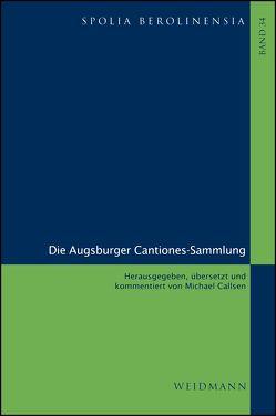 Die Augsburger Cantiones-Sammlung von Callsen,  Michael