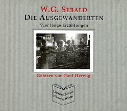 Die Ausgewanderten von Sebald,  Winfried G