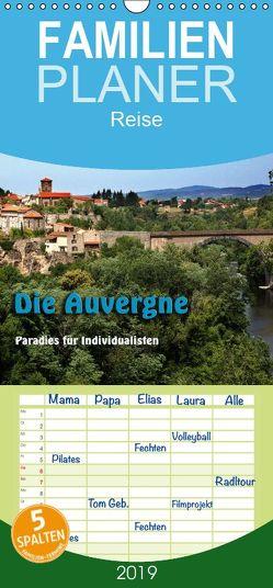 Die Auvergne – Paradies für Individualisten – Familienplaner hoch (Wandkalender 2019 , 21 cm x 45 cm, hoch) von Neurohr,  Heinz