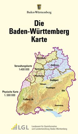 Die Baden-Württemberg Karte von Landeszentrale für Politische Bildung