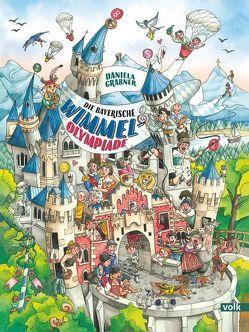 Das große bayerische Wimmelbuch von Grabner,  Daniela