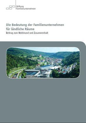 Die Bedeutung der Familienunternehmen für ländliche Räume