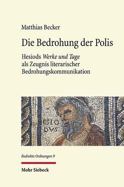 Die Bedrohung der Polis von Becker,  Matthias
