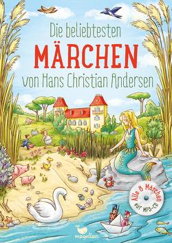 Die beliebtesten Märchen von Hans Christian Andersen, mit MP3-CD von Andersen,  Hans Christian, Lauber,  Larisa, Reh,  Rusalka
