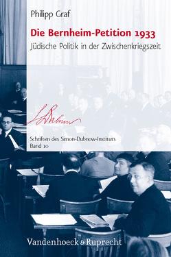 Die Bernheim-Petition 1933 von Graf,  Philipp