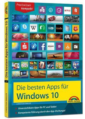 Die besten Apps für Windows 10 von Immler,  Christian