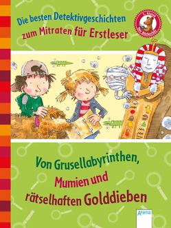Die besten Detektivgeschichten zum Mitraten für Erstleser von Kalwitzki,  Sabine, Wienekamp,  Jann