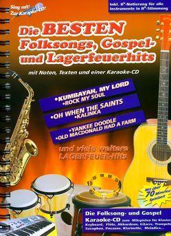Die besten Folksongs, Gospel- und Lagerfeuerhits