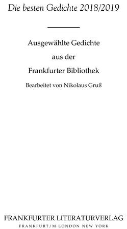 Die besten Gedichte 2018/2019 von Gruß,  Nikolaus