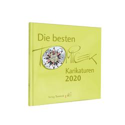 Die besten Tomicek Karikaturen 2020 von Tomicek,  Jürgen