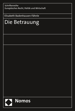 Die Betrauung von Badenhausen-Fähnle,  Elisabeth