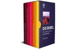Die Bibel. Einheitsübersetzung der Heiligen Schrift. Gesamtausgabe / Bibel in 5 Einzelbüchern in Geschenkkassette, Großdruck