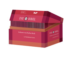 Die Bibel. Gelesen von Rufus Beck. Lutherübersetzung 2017 mit Apokryphen. von Beck,  Rufus, Luther,  Martin