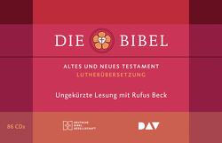 Die Bibel. Gelesen von Rufus Beck von Beck,  Rufus