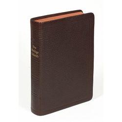 Die Bibel – größere Taschenbibel (Leder, braun) von Christliche Schriftenverbreitung,  e.V.