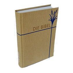 Die Bibel – größere Taschenbibel (Natur) von Christliche Schriftenverbreitung,  e.V.