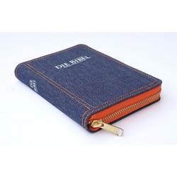 Die Bibel – Pocketausgabe (Jeans mit Reißverschluß) von Christliche Schriftenverbreitung,  e.V.