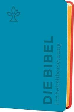 Die Bibel. Senfkorn, Handschmeichler petrol von Bischöfe Deutschlands,  Österreichs,  der Schweiz u.a.,  der Schweiz u.a.