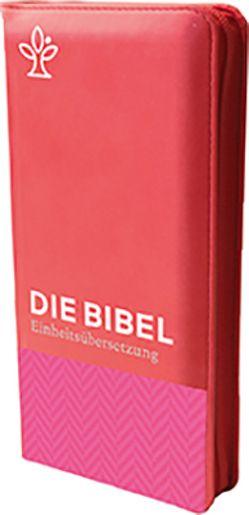 Die Bibel. Taschenausgabe Tweed mit Reißverschluss