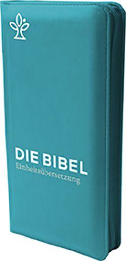Die Bibel. Taschenausgabe verde mit Reißverschluss