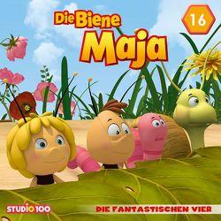 Die Biene Maja (CGI) / 16: Die fantastischen Vier von Aboulker,  Fabrice, Herrenbrück,  Anja, Kusano,  Florian, Svoboda,  Karel