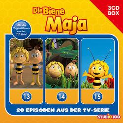 Die Biene Maja (CGI) / Die Biene Maja (CGI) – 3CD Hörspielbox Vol. 5 von Herrenbrück,  Anja