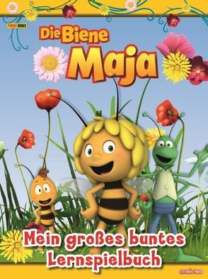 Die Biene Maja: Mein großes buntes Lernspielbuch